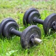 Fitness exercise equipmen — Stock Photo
