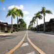 Stock Photo: Caribbean road
