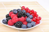 Assortment of sweet berries — Stock Photo
