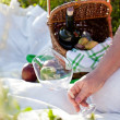 Picnic in sunny summer day — Stock Photo #13703043
