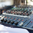 Professional sound mixer — Stock Photo