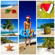 Stockfoto: New Year collage