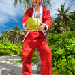 Stock Photo: Santunder tropical palm