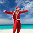 Royalty-Free Stock Photo: Happy Chistmas on the beach
