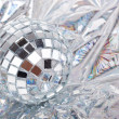 Stock Photo: Shiny Mirrored disco ball