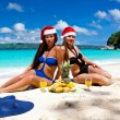 Royalty-Free Stock Photo: Summer Christmas on beach
