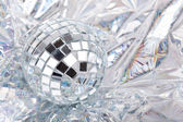 Shiny Mirrored disco balls — Stock Photo