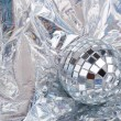 Stock Photo: Shiny Mirrored disco balls