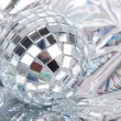 Stock Photo: Mirrored disco ball