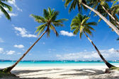 Tropical scene, Philippines — Stock Photo