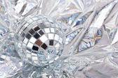 Blanka speglade discokulor — Stockfoto