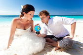 Choice for honeymoon — Stock Photo