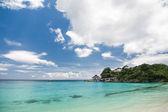 Lagoon with turquoise sea — Stock Photo
