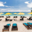 Stock Photo: Resort beachfront