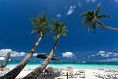 Tropical lounge — Stock Photo
