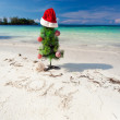 Summer New Year on beach — Stock Photo #31466279