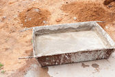 Ready concrete — Stock Photo