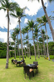 Resort restaurant — Stock Photo