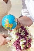 Wedding and honeymoon — Stock Photo