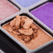 Professional make-up eyeshadows — Stock Photo