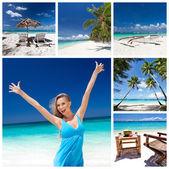Travel collage — Stock Photo