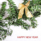 Happy New Year card — Stock Photo
