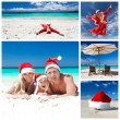 Christmas collage — Stock Photo #35792635