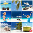 Travel collage — Stock Photo #35792637