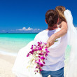 Exotic tropical wedding — 图库照片