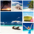 Travel collage — Stock Photo #36457331