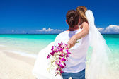 Exotic tropical wedding — Stock Photo