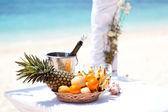 Tropische huwelijksfeest — Stockfoto