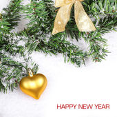 Happy New Year card — Foto de Stock