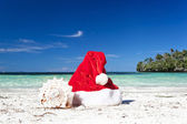 Travel Christmas concept — Stock Photo