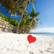 Romantic paradise on tropical beach — Stock Photo #38716763