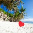 Romantic paradise on tropical beach — Stock Photo #39103271