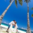 Foto de Stock  : Exotic tropical wedding