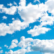 Blue cloudly sky — Stock Photo #39103937