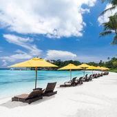 Vista resort tropicale — Foto Stock