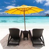 Vista resort dei Caraibi — Foto Stock