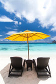 Caribbean resort view — Stock Photo