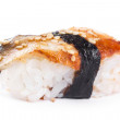 Stock Photo: Sushi with blackhead