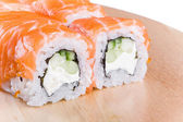 Sushi roll Philadelphia — Stock Photo