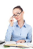 Businesswoman  at office  — Stock Photo