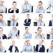 Business collage — Stock Photo #50009531