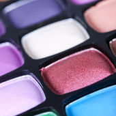 Make-up eye shadows palette — Stock Photo