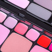 Make-up blush palette — Stock Photo