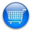 Shopping cart button — Stock Photo #1045430