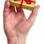 Man holding a gift box — Stock Photo #1279968
