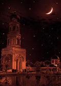 Night landscape — Стоковое фото